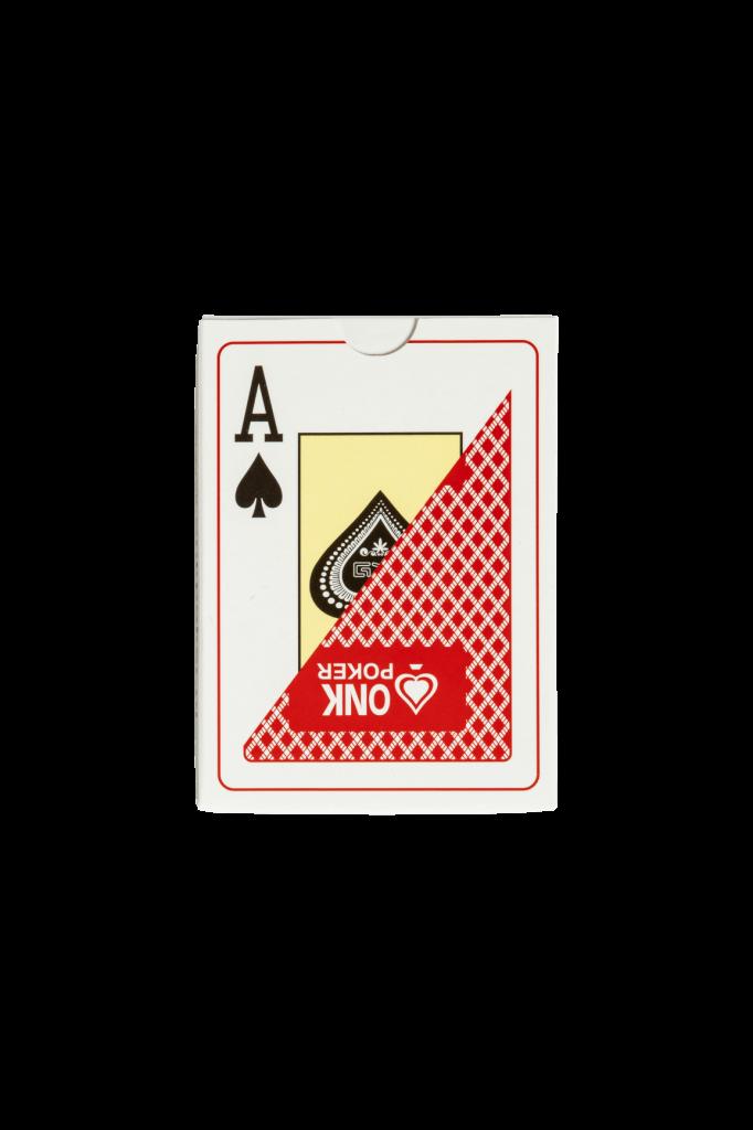 3001 Professionele ONK Poker kaarten rood