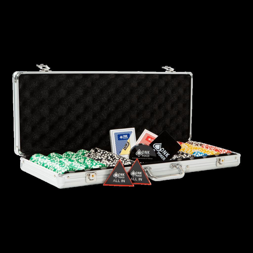 3502 ONK Pokerset - compleet