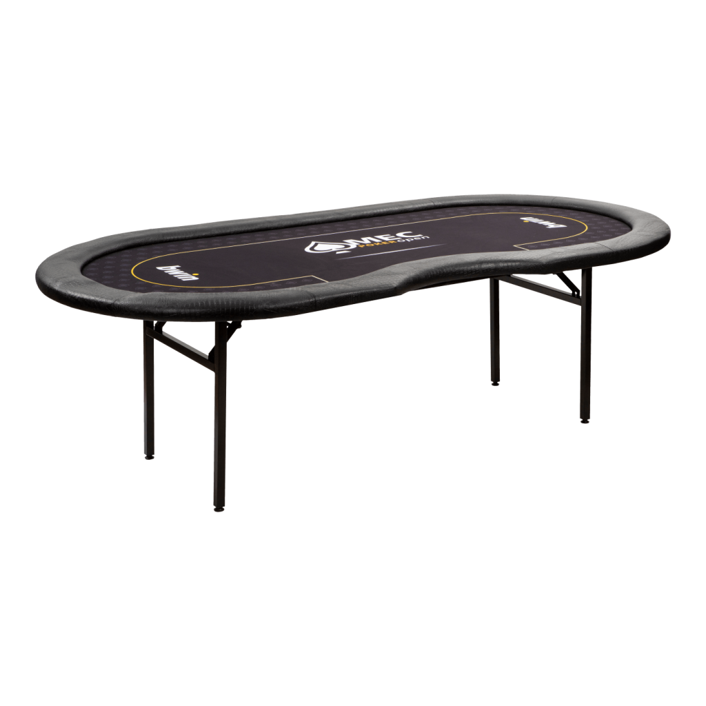 6005 MEC Professionele Pokertafel zijkant